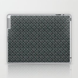 """A Thing About Number 9"" Black & Pattern with Color Flecks Laptop & iPad Skin"