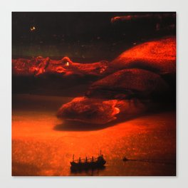 Sea Monsters Canvas Print