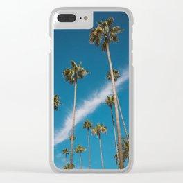 Beverly Hills Sky II Clear iPhone Case