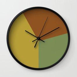 Color block #2 Wall Clock