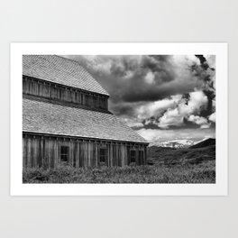 Midway, Utah, Tate Barn Art Print