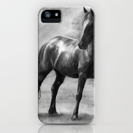 Horse V iPhone Case