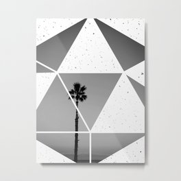 Fragmented palm Metal Print