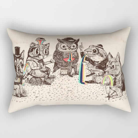 Strange Animals Rectangular Pillow