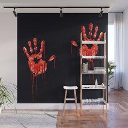Halloween Hands Wall Mural