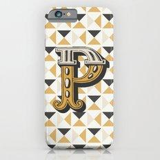 Letter P iPhone 6s Slim Case