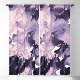 inkblot marble 9 Blackout Curtain