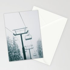 Ski Lift II Stationery Cards