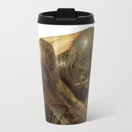 Humanoid Creature Travel Mug