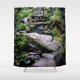 Kyoto no Koi Shower Curtain