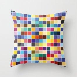 Pantone Color Palette - Pattern Throw Pillow