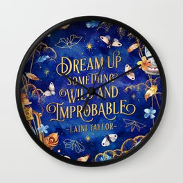 Dream up Wall Clock