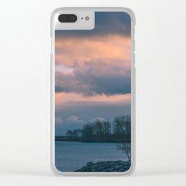 Cloud Storm Clear iPhone Case