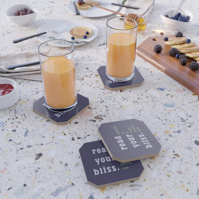 Read Your Bliss Coaster