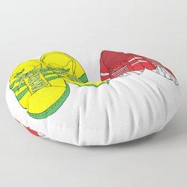 Shoe Love Floor Pillow