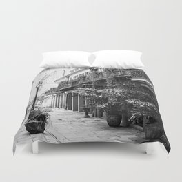 New Orleans Exchange Place Duvet Cover