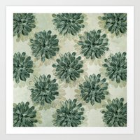 succulents Art Prints featuring Succulents by Sandra Arduini