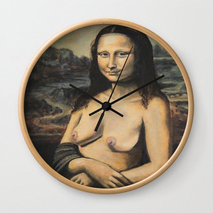 Moaner Lisa Wall Clock