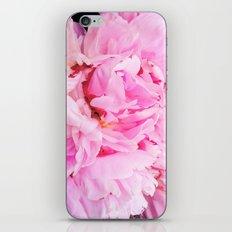 Pretty Pink Peony iPhone & iPod Skin