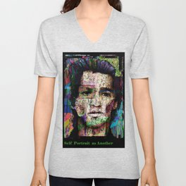 Self Portrait as Another Unisex V-Neck