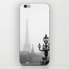 Veiled Eiffel Tower iPhone Skin