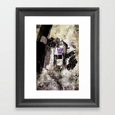 Lord Megatron  Framed Art Print