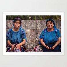 Dos Mujeres Art Print
