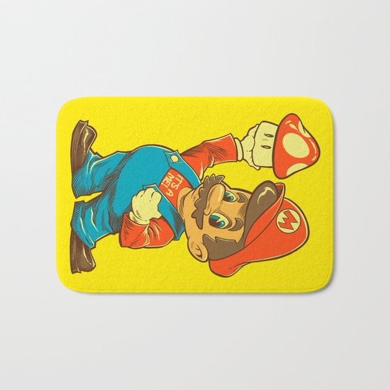 SHIGERU'S BIG BOY Bath Mat