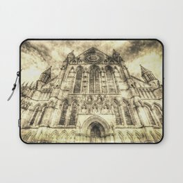 York Minster Cathedral Vintage Laptop Sleeve