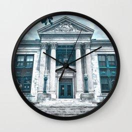 Colt School, Bristol RI Wall Clock