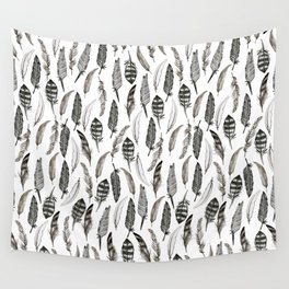 Feather Pattern Wall Tapestry