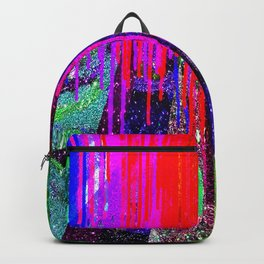 Paint Drops on Glitter 1 Backpack