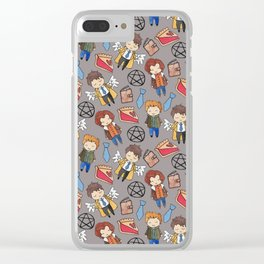 Supernatural Clear iPhone Case