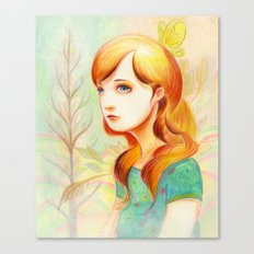 Sweet Yulia Canvas Print