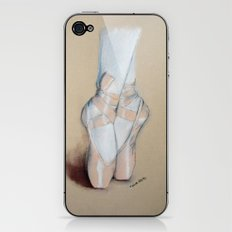 Ballet Pointe Shoes. iPhone & iPod Skin