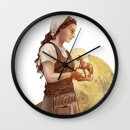 Mechanica Wall Clock