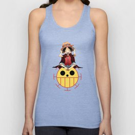 luffy haki Unisex Tank Top
