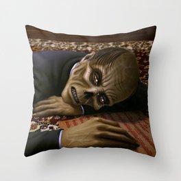 Erik Weeping Throw Pillow