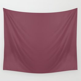 Behr Sugar Beet (Dark Pink Purple) M130-7 Solid Color Wall Tapestry
