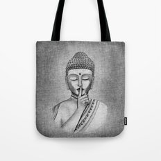 Shh... Do not disturb - Buddha Tote Bag