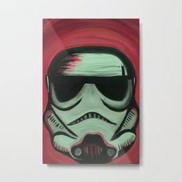 Storm Tripper: Red Metal Print