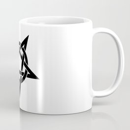 Black Inverted Pentagram Coffee Mug