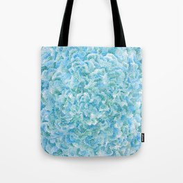 blue and green bubbles Tote Bag
