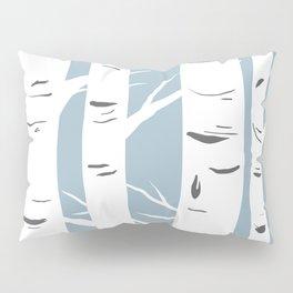 Blue Birches Pillow Sham