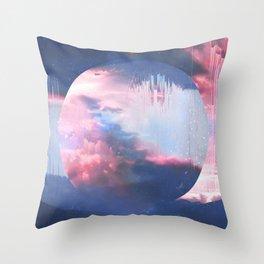 Ethernal Spring Sky Throw Pillow