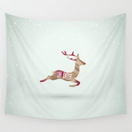 Oh Deer Wall Tapestry