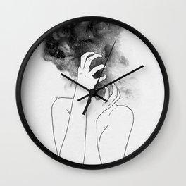 Losing thoughts. Wall Clock