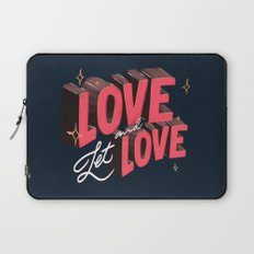 Love & Let Love Laptop Sleeve