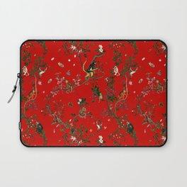 Monkey World Red Laptop Sleeve