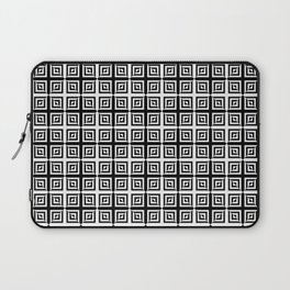 Square Pair Dance of Illusions Laptop Sleeve